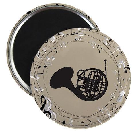 French Horn Musical Gift Magnet