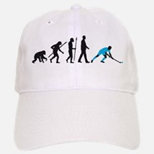 evolution fieldhockey player Baseball Baseball Cap
