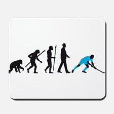 evolution fieldhockey player Mousepad
