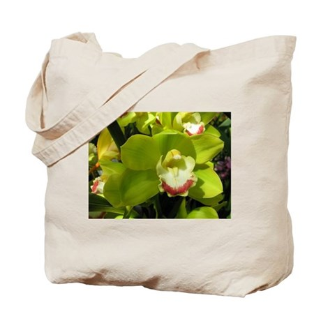 LimeWithAHintOfRed.jpg Tote Bag