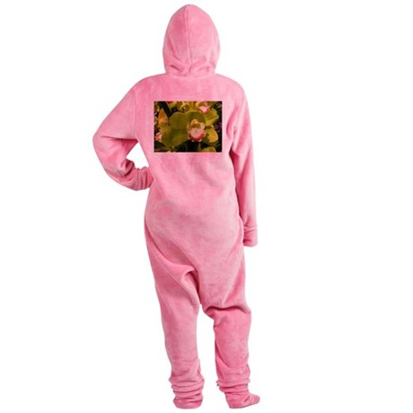 LimeWithAHintOfRed.jpg Footed Pajamas