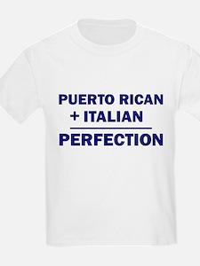 Italian + Puerto Rican Kids T-Shirt