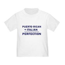 Italian + Puerto Rican T