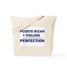 Italian + Puerto Rican Tote Bag