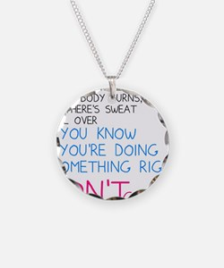 Dont Give Up Necklace