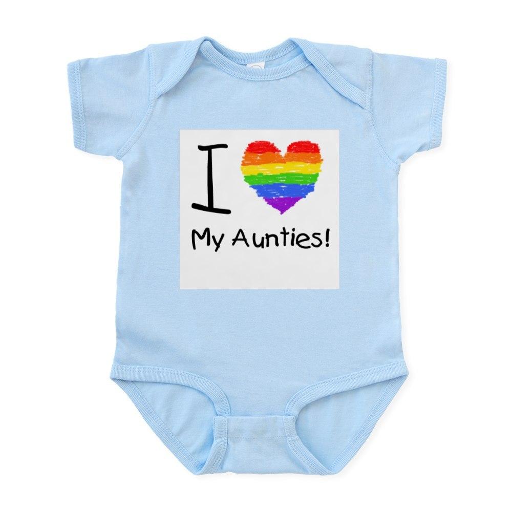 CafePress I Love My Aunties! Infant Creeper
