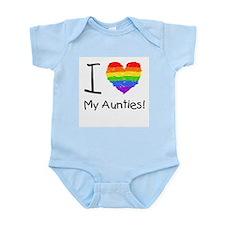 I Love My Aunties! Infant Creeper
