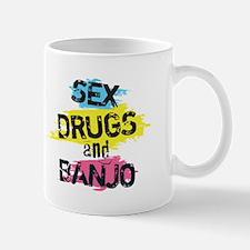 Sex Drugs and banjo Mug