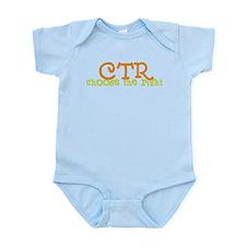 Funny Childrens church Infant Bodysuit