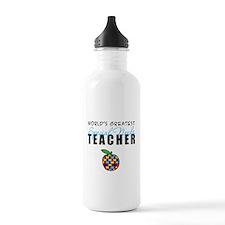 Worlds Greatest Special Needs Teacher Sports Water Bottle