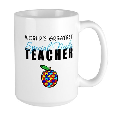 Worlds Greatest Special Needs Teacher Large Mug