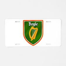 Boyle Family Crest Aluminum License Plate