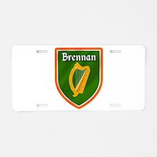 Brennan Family Crest Aluminum License Plate