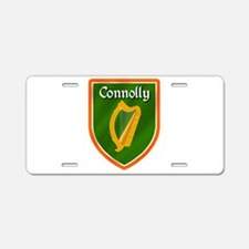 Connolly Family Crest Aluminum License Plate