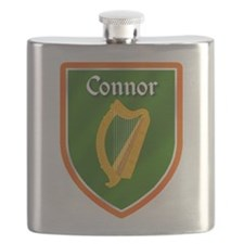 Connor Family Crest Flask