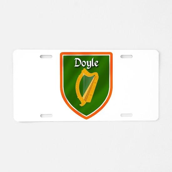 Doyle Family Crest Aluminum License Plate