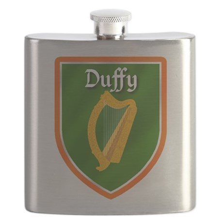 Duffy Family Crest Flask