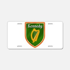 Kennedy Family Crest Aluminum License Plate
