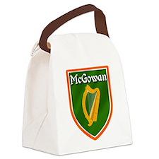 McGowan Family Crest Canvas Lunch Bag