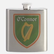 OConnor Family Crest Flask