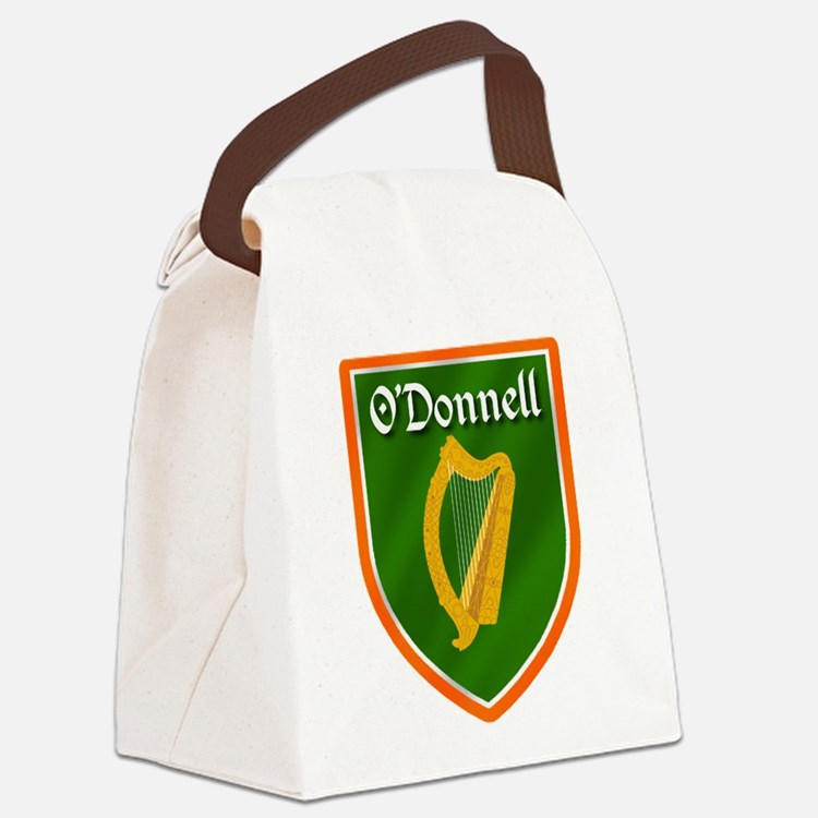 ODonnell Family Crest Canvas Lunch Bag