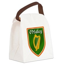 OMalley Family Crest Canvas Lunch Bag