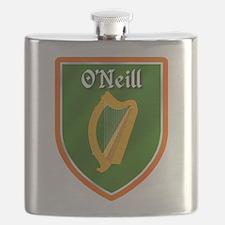 ONeill Family Crest Flask