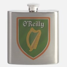 OReilly Family Crest Flask