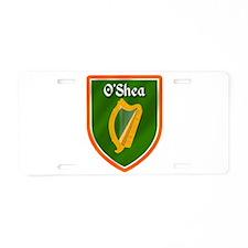 OShea Family Crest Aluminum License Plate