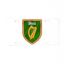 Shea Family Crest Aluminum License Plate