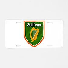 Sullivan Family Crest Aluminum License Plate
