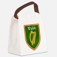 Walsh Family Crest Canvas Lunch Bag