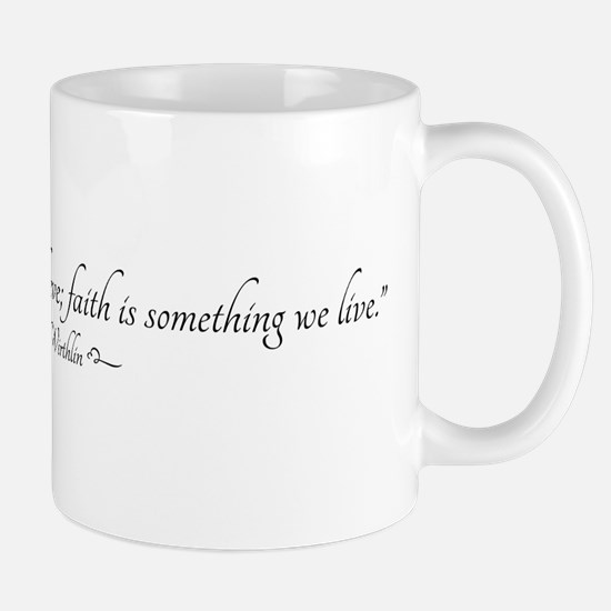Faith Quote Mugs