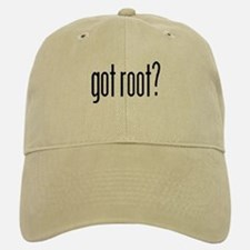 got root? Baseball Baseball Cap
