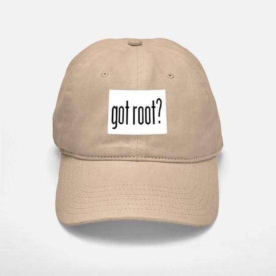 got root? Baseball Baseball Cap