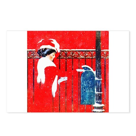 Merry Christmas Darling Postcards (Package of 8)