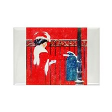 Merry Christmas Darling Rectangle Magnet