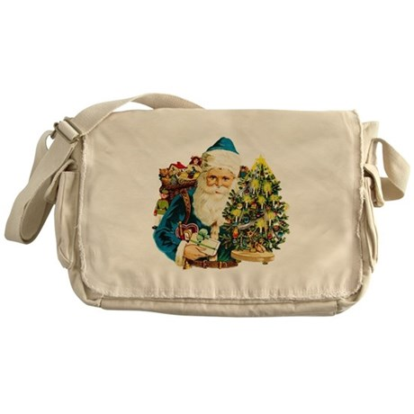 Jolly Old Saint Nick Messenger Bag