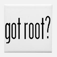 got root? Tile Coaster