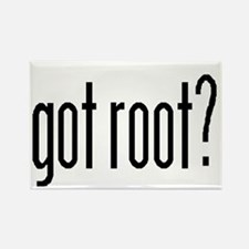 got root? Rectangle Magnet
