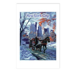 First Snow Postcards (Package of 8)