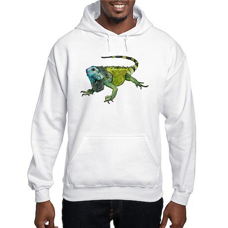 Oh How Iguana Go Home Hooded Sweatshirt