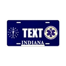 Indiana EMS Custom License Plate