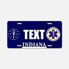 Indiana EMS Custom License Plate