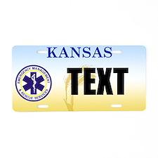 Kansas EMS Custom License Plate