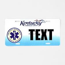 Kentucky EMS Custom License Plate