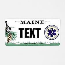 Maine EMS Custom License Plate