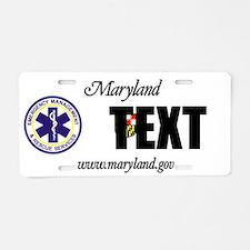 Maryland EMS Custom License Plate