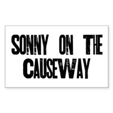 Sonny on the Causeway Decal