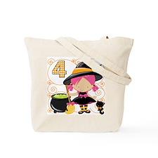 Girl 4 Halloween Tote Bag